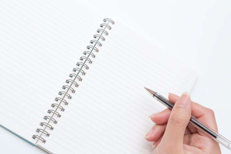 夫との話し合い,メモとペン,マインドマップ
