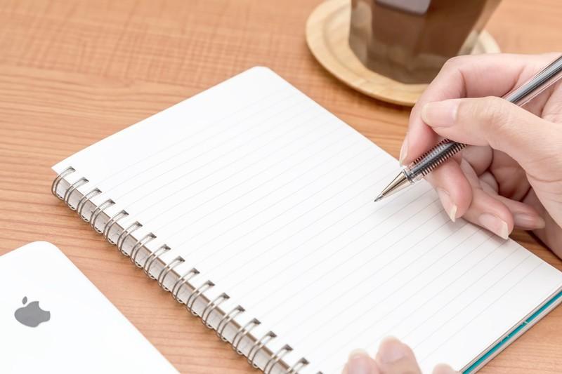 字が書けない,手が震える,緊張