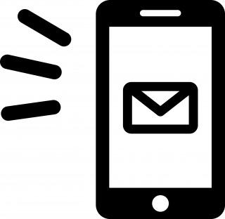 文字が消えているメールを読む方法