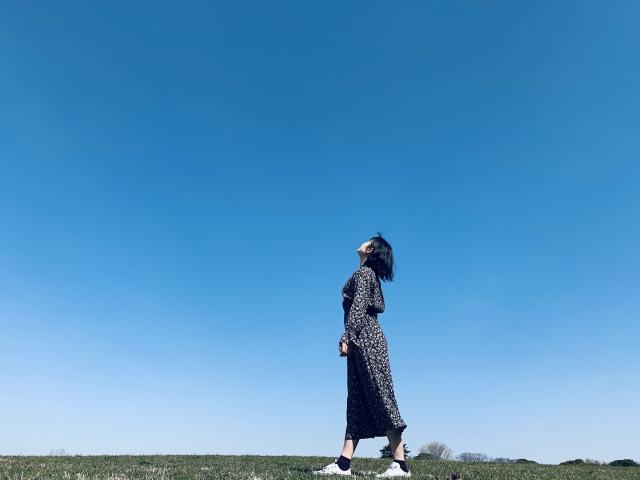 空を見上げる 関心を変える