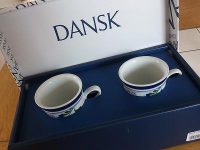 DANSK,コーヒーカップ,ペア