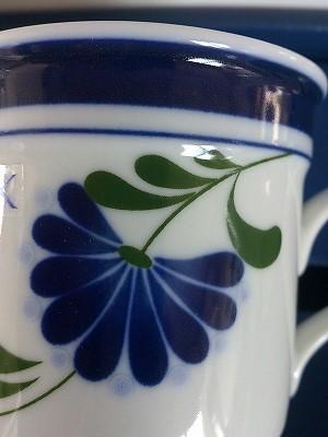 DANSK,青い花,印刷