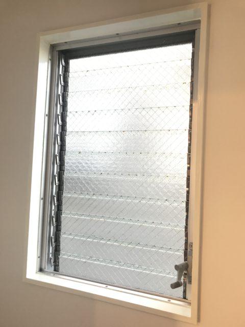トイレ,ルーバー窓