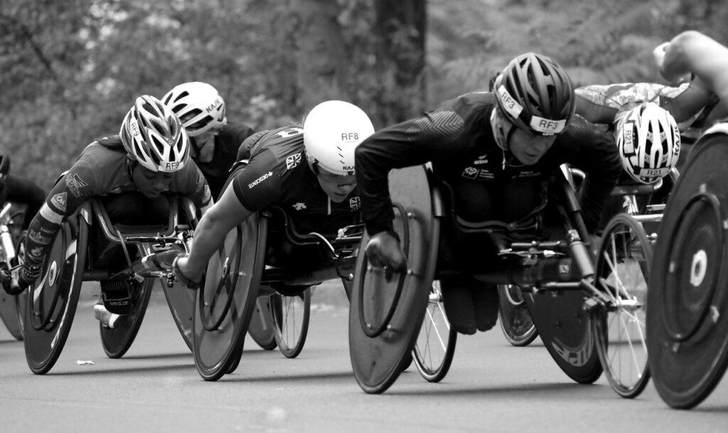 車椅子レース